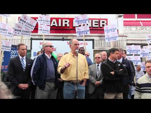 Rally to Re-elect Senator Bob Casey