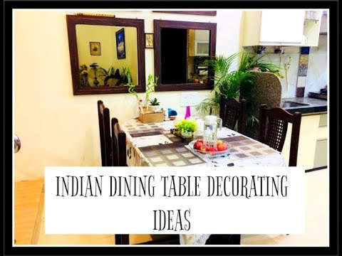 INDIAN DINING TABLE DECORATING IDEAS