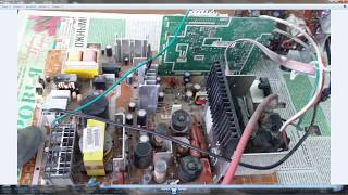 Попытка ремонта  телевизора Samsung CS29Z30HSQ