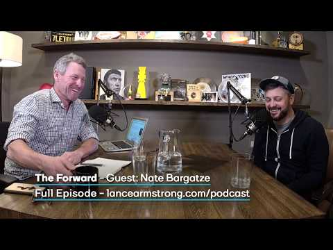 Nate Bargatze Talks Jay Cutler on The Forward with Lance Armstrong