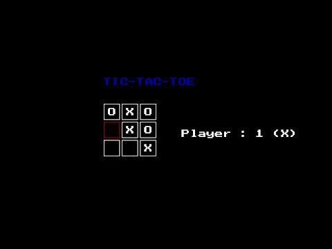 Simple Tic-Tac-Toe with C graphics! | Graphics with C