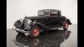 1934 Packard Eight 1101 2 4 Rumble Seat Coupe FOR SALE at St Louis Car Museum Sales