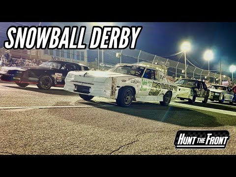 Dirt Racers At The Asphalt Track / Five Flag Speedway's Snowball Derby