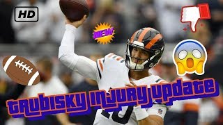Mitch Trubisky Shoulder Injury Update. What Does This News Mean Going Forward This Season?