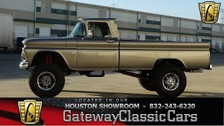 1963 Chevrolet C20 - #301 - Gateway Classic Cars of Houston