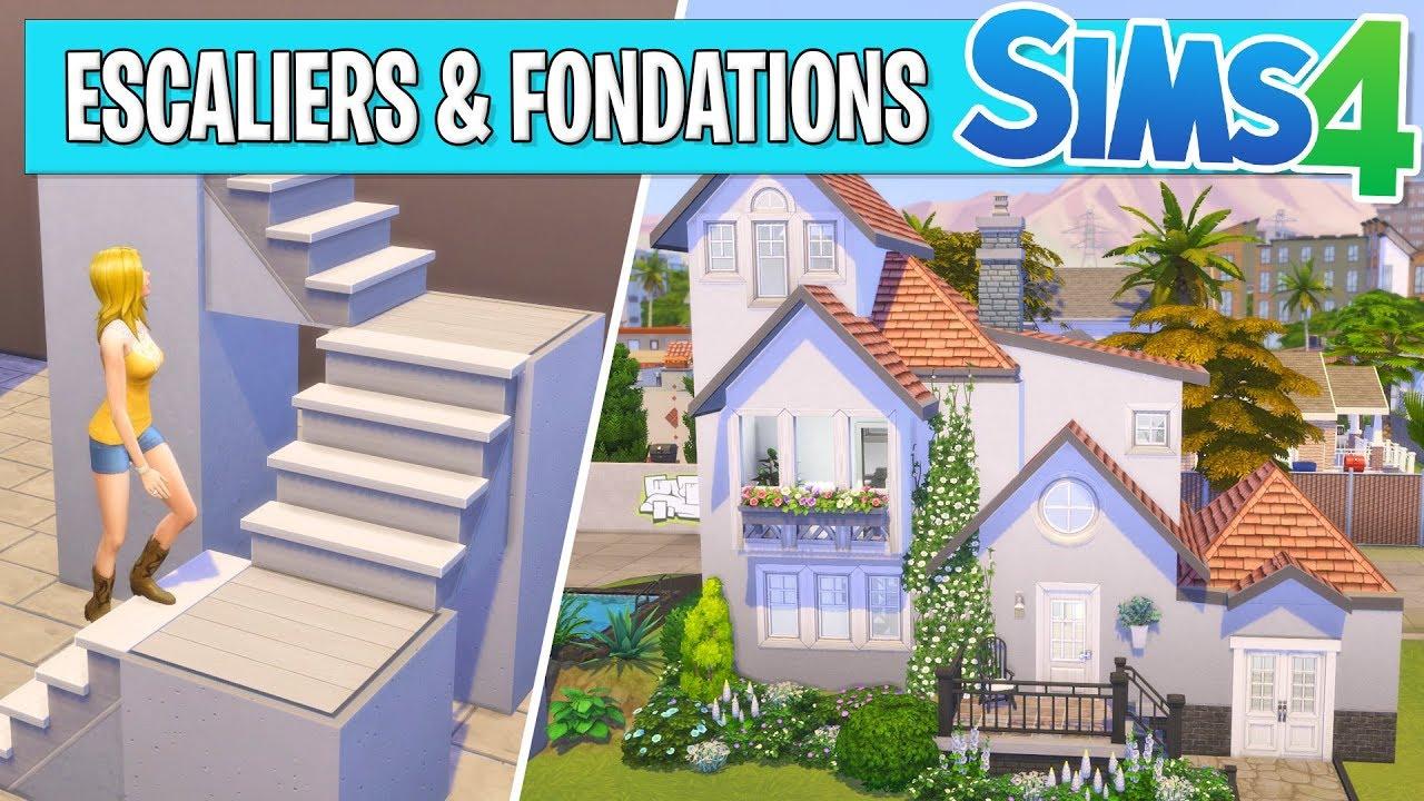 Escaliers Fondations Sims 4