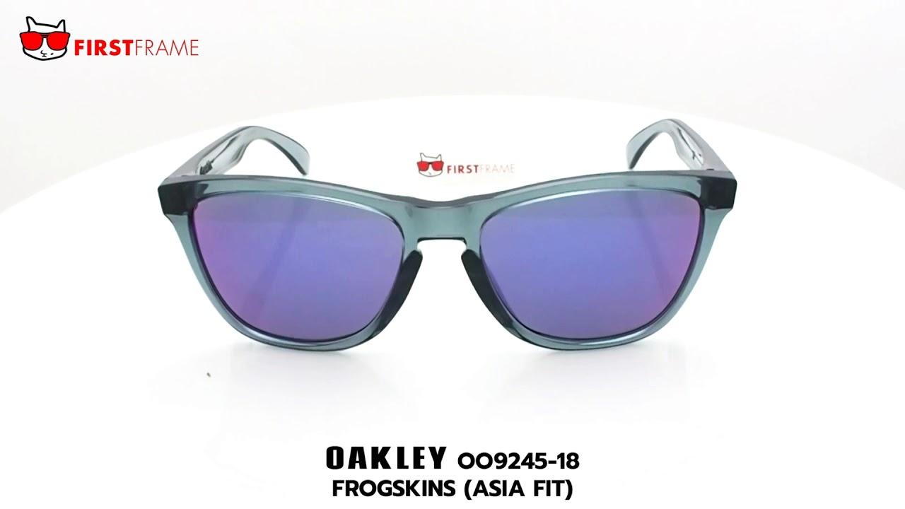 e41429781f แว่นกันแดด OAKLEY OO9245-18 FROGSKINS (ASIA FIT) - YouTube