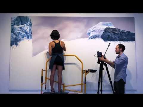 """I Love You, Goodbye"" video premier and collaboration w/ artist Zaria Forman"