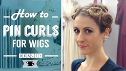 How To Pin Curls your Hair for Wigs | Lazy Dancer Tips