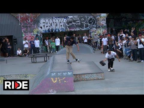Converse Cons One Star Tour - Mile End Skatepark, London