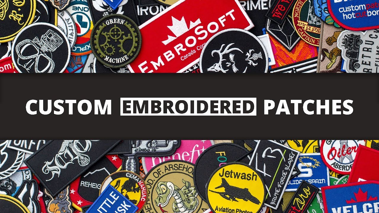 Image result for custom embroidered patches