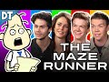 THE MAZE RUNNER Cast Interview!! (w/ Thomas, Kaya, Dylan & Will) : Todd
