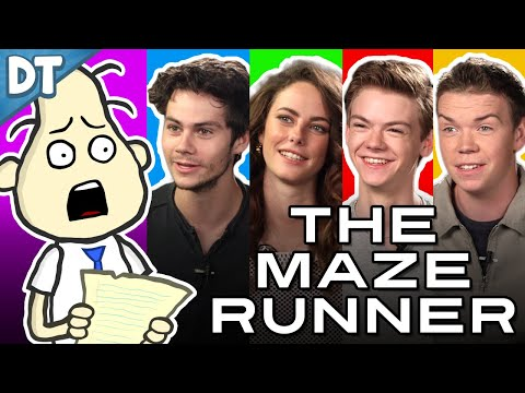 THE MAZE RUNNER Cast Interview!! (w/ Thomas, Kaya, Dylan & Will) : Todd's Blog