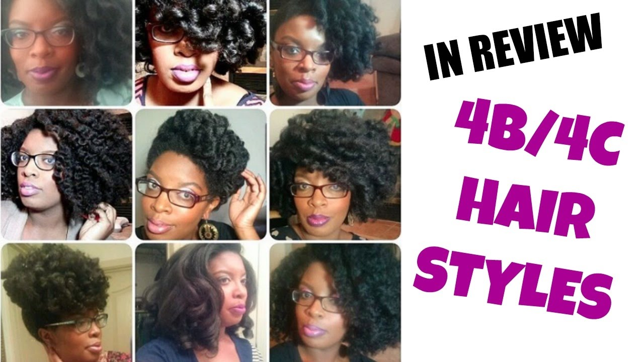 Natural Hairstyles 4b 4c Thick Hair Youtube