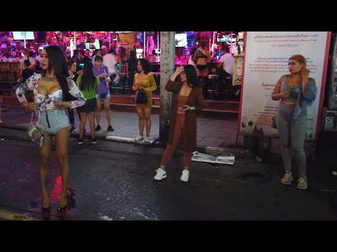 Patong Bangla Road, Phuket, Thailand (2020) | Walking Tour - Thai Entertainment (RAW Footage)