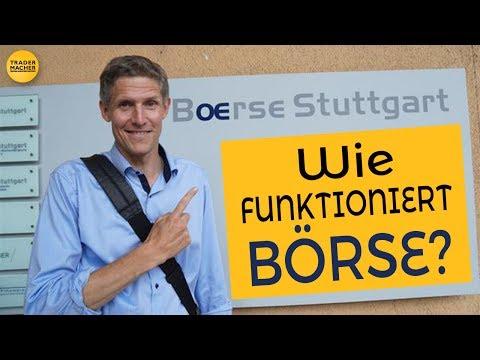 WIE FUNKTIONIERT BÖRSE? – Blick hinter die Kulissen in Stuttgart!