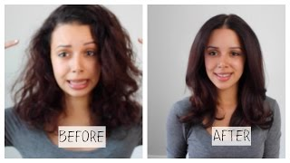 How to Blow-Dry Hair (Salon Quality) + DIY Treatment