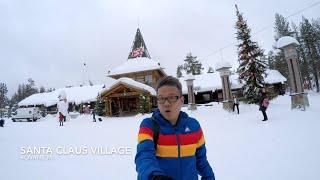 Finland Travel Vlog: My 72 Hrs In Rovaniemi