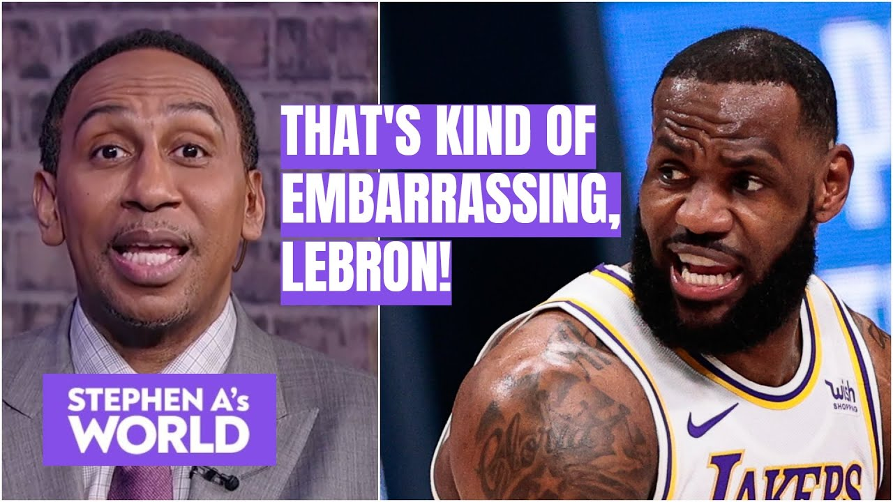 Stephen A. investigates claims of LeBron James' flopping | Stephen A's World