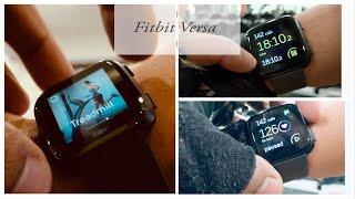 Fitbit Versa Gym Test