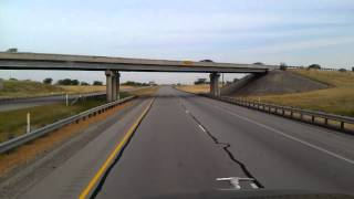 North Fort Worth, Texas on Interstate 35
