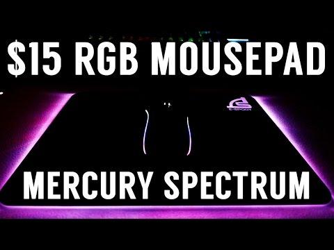 $15 RGB MOUSEPAD?! Signo Mercury Spectrum MT-319 (Unboxing & Review)