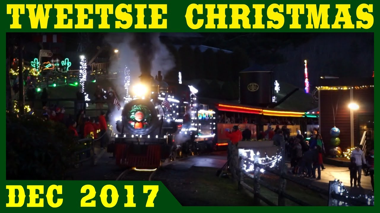 Tweetsie Christmas.Christmas At Tweetsie Railroad 2017