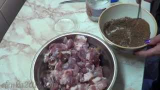 Рецепт домашней колбасы(Смотрите еще один простой и вкусный рецепт домашней колбасы. Приготовление несложное, получается очень..., 2013-06-17T20:58:44.000Z)
