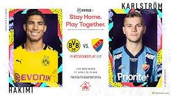 #Stayandplay Cup: BVB vs. Djurgardens IF   Achraf Hakimi vs. Jesper Karlström   FIFA 20