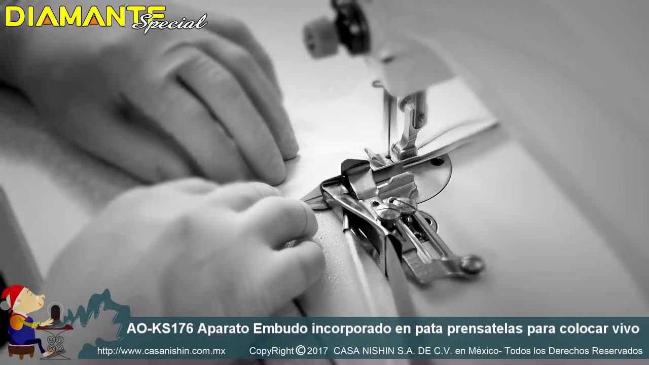 """Máquina De Coser Industrial dobladillado Dobladillo Pie 8.0 mm 5//16/"""" funciona en Brother Juki"""
