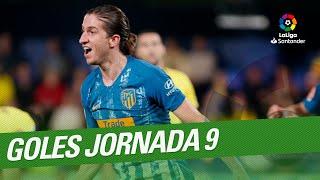 Todos los goles de la Jornada 09 de LaLiga Santander 2018/2019
