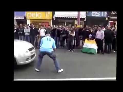 India vs Pakistan Celebrations Soho Road Birmingham feat Balwant Singh