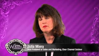 Julia Miera, Vice President of Sales and Marketing, Clear Channel Outdoor