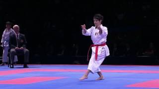 Sandra Sanchez vs Sandy Scordo. FINAL. European Karate Championships 2016