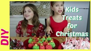 DIY Kids Treats for Christmas   Kid Size Cooking   Jazzy Girl Stuff