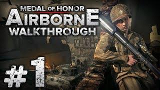"""Прохождение Medal of Honor: Airborne — Часть #1: БЕЗМЕРНОЕ ЗЛО / Операция """"Хаски"""""""