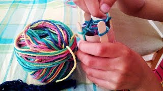 How to Knit: Knitting Loom  (T…