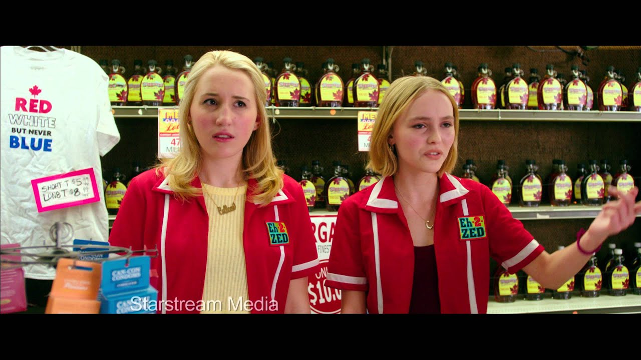 yoga hosers clip hunter and gordon visit the colleens at