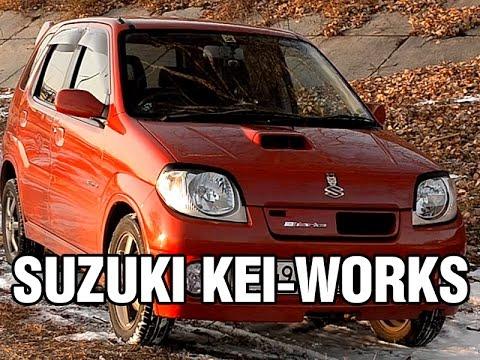 Крутой ТУРБО кей-кар - Suzuki KEI-WORKS, 2003