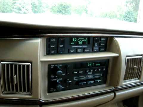1994 Buick Roadmaster Estate Wagon Video 1 YouTube