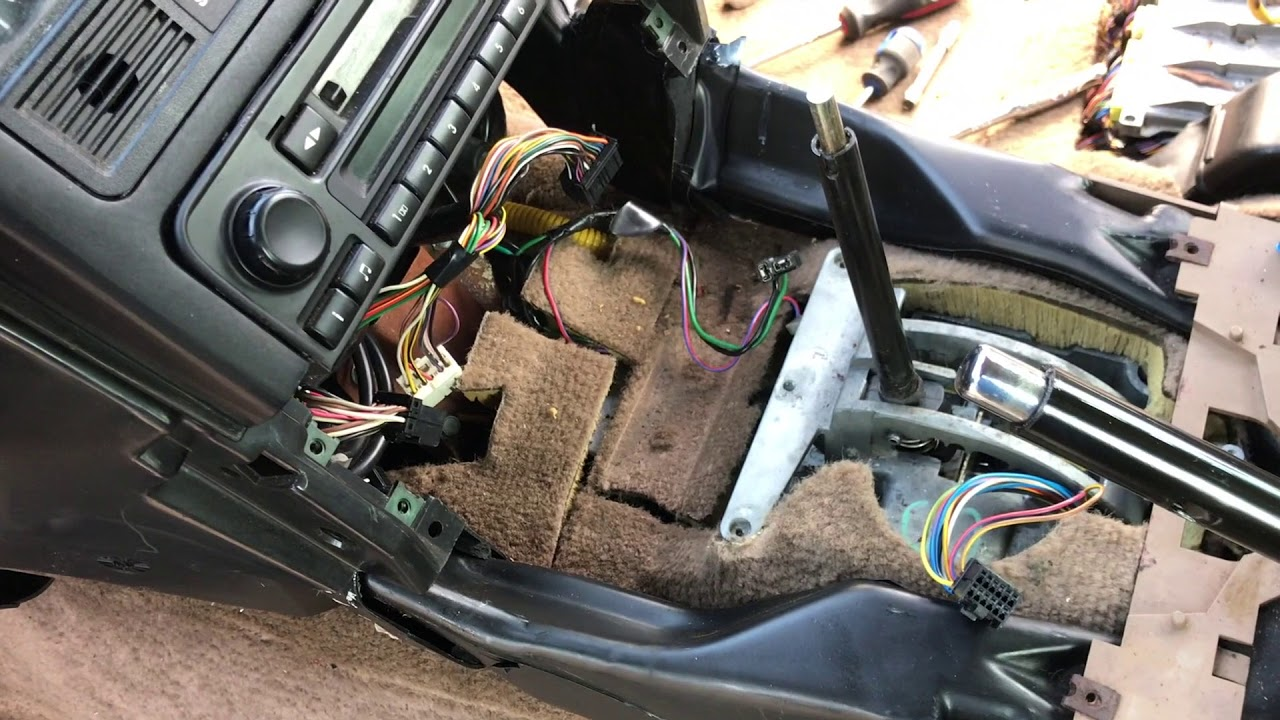 Range Rover P38 Dash Removal step by step removal
