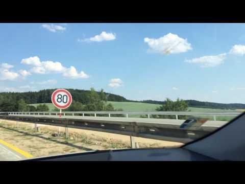 Prague to Bratislava road Trip