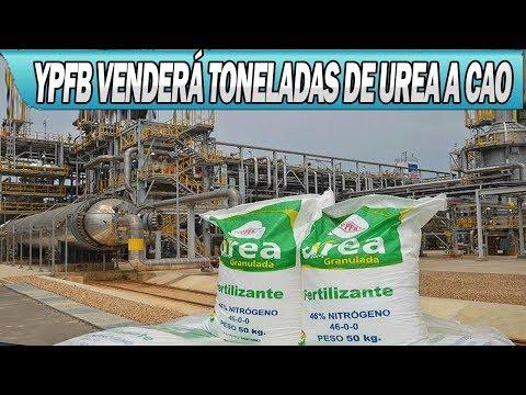 YPFB Venderá 6.000 Toneladas de Urea a la CAO