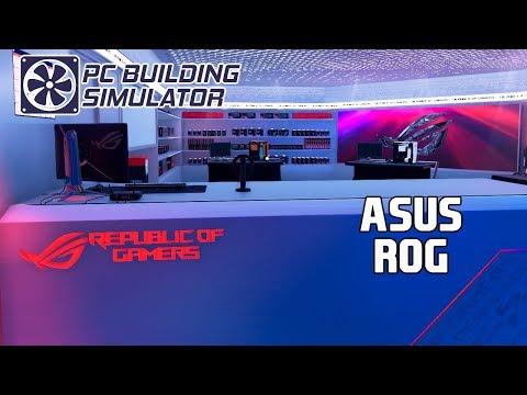 REPUBLIC OF GAMERS WORKSHOP | PC Building Simulator |