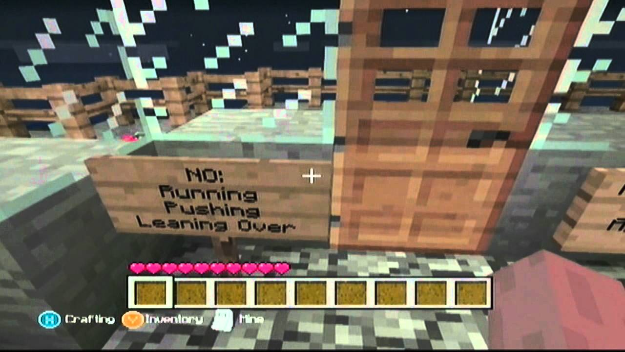 how to go to space in minecraft xbox 360