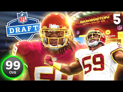 I traded my star QB, to get this guy in the draft! Season 5