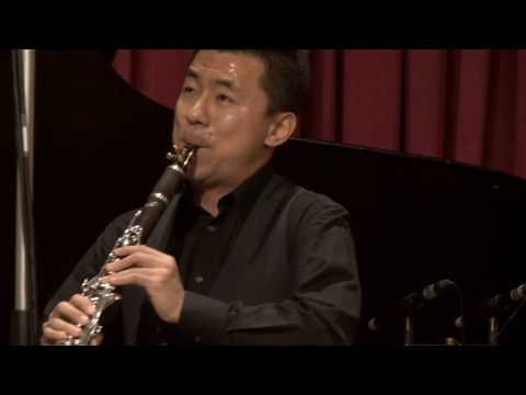 Clarinetist Yao Ghang Zhai, in recital  Heliconian Hall