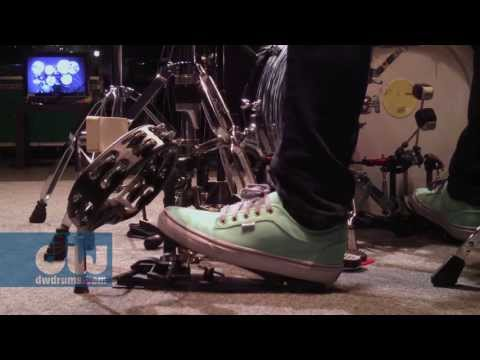 DW 2000 Series Tambourine Pedal with Gregg Bissonette