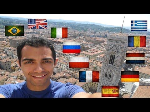 Brazilian Polyglot speaking 11 Languages [SUBTITLED]