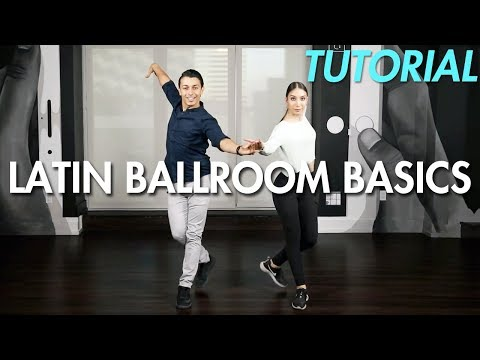 Basic Latin Ballroom Steps with Partnering (Ballroom Dance M